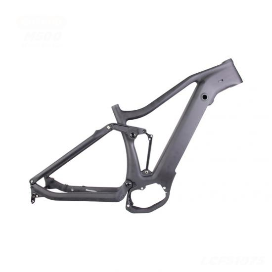 Full Suspension Electric bike Frame